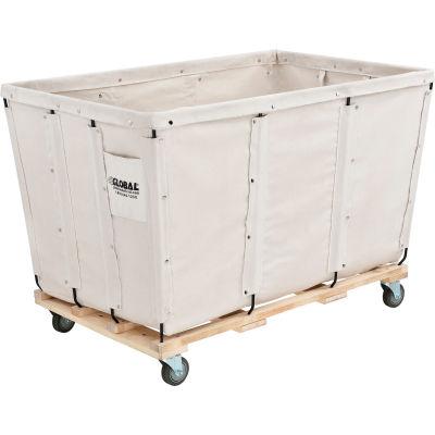Global Industrial™ KD, 24 Bushel, Canvas Basket Bulk Truck