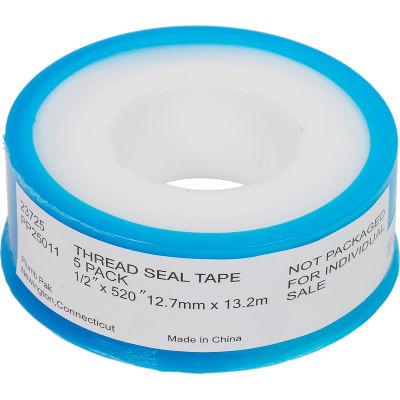 """Plumb Pak Thread Sealant Tape, 1/2"""" x 520"""" - Pkg Qty 5"""