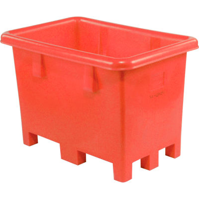 """Dandux Pallet Container 51080716R - 42""""L x 29""""W x 31'H Single Wall, Red"""