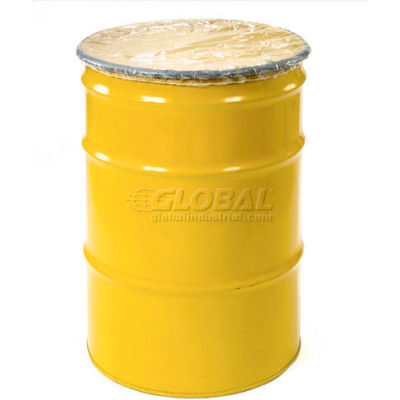 Global Industrial™ Elastic Polyethylene Drum Cover for 55 Gallon Drum - Pkg Qty 100