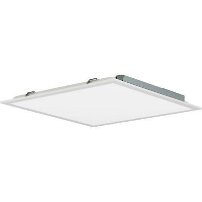 Global Industrial™ LED Panel Light, White Frame, 2'x2', 32W, 4000 Lumens, 4000K, 0-10V Dimming - Pkg Qty 2