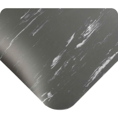 """Wearwell® Tile-Top™ Anti Fatigue Mat WOW Finish 7/8"""" Thick 3' x 5' Charcoal"""