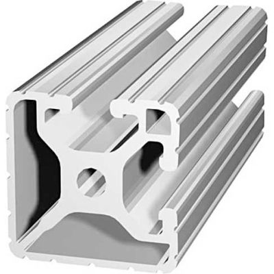 """80/20 1502-145 1-1/2"""" X 1-1/2"""" T-Slotted Profile, 145"""" Stock Bar"""