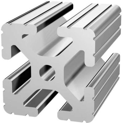 "80/20 1515-97 1-1/2"" X 1-1/2"" T-Slotted Profile, 97"" Stock Bar"