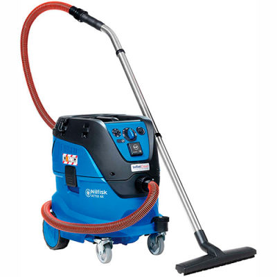 Nilfisk Attix 44-21 IC Wet/Dry HEPA Vacuum w/ Auto Filter Cleaning, 11 Gallon Cap.