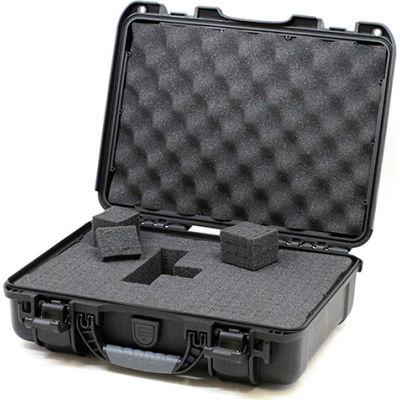 """Nanuk 910-1001 910 Case w/Foam, 14.3""""L x 11.11""""W x 4.7""""H, Black"""
