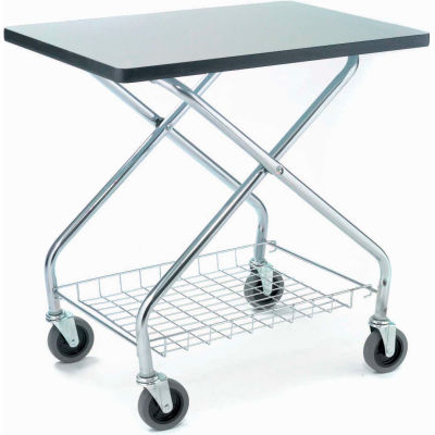 Global Industrial™ Fold and Store Service Cart 350 Lb. Capacity