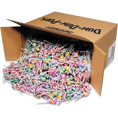 Dum Dum Pops, Assorted Flavors, Individually Wrapped, Bulk 30 Lb. Carton