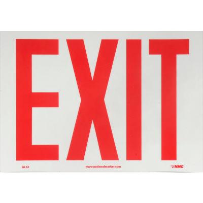 Glo-Brite Exit Sign - Vinyl