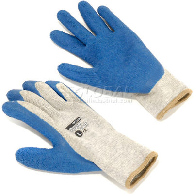 PIP Latex Coated Cotton Gloves, Large - 12 Pairs/Pack