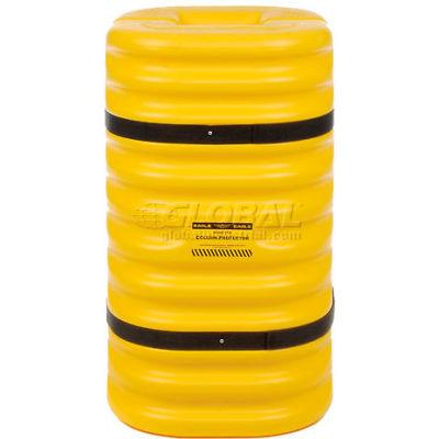 "Eagle Column Protector, 10"" Column Opening, Yellow"