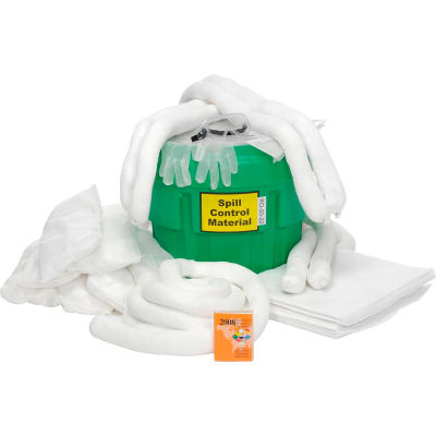 Spill Response Kit Petroleum Kit, 20-Gallon