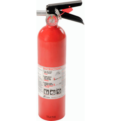 Fire Extinguisher Dry Chemical 2 1/2 Lb.