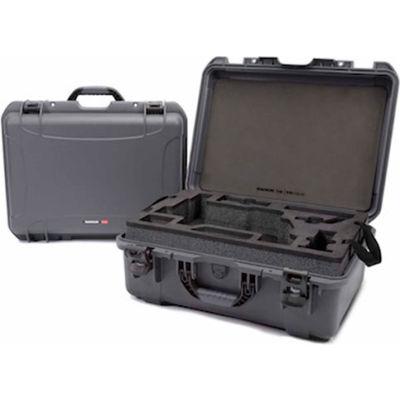 """Nanuk 940 Series DJI Ronin M Case 940-RON7 w/ Foam Insert 21-11/16""""L x 16-7/8""""W x 8-1/2""""H Graphite"""