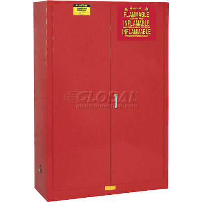 Paint & Ink Cabinet With Manual Close Double Door 60 Gallon