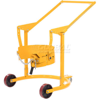 Global Industrial™ Mobile Drum Carrier for 55 Gallon Steel Drums - 800 Lb. Capacity