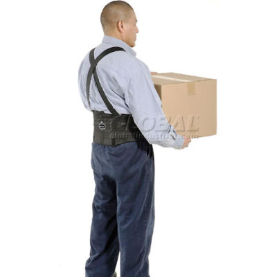 "Ergodyne® ProFlex® 1650 Economy Back Support with Suspenders, M, 30-34"" Waist Size"