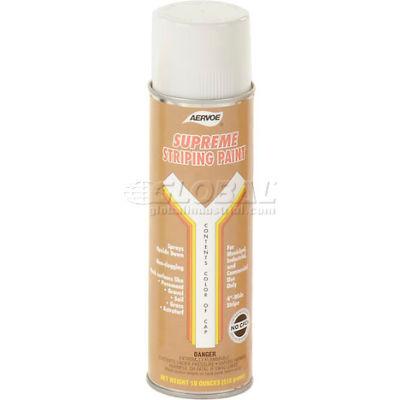 White Striper Premium Spray Paint - Pkg Qty 12