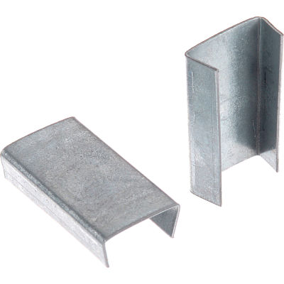 """Steel Strapping Seals For Use With 5/8""""W Steel Strapping Tools - 1,000 Pack"""