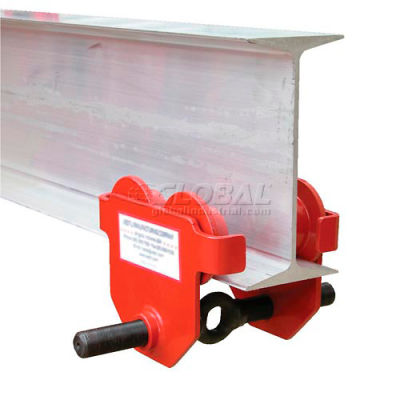 Standard Eye Adjustable Manual Trolley E-MT-10 10,000 Lb. Capacity
