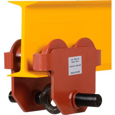 Standard Eye Adjustable Manual Trolley E-MT-4 4000 Lb. Capacity
