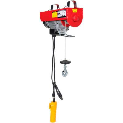 Mini-Electric Cable Hoist 400 Lb. Single & 800 Lb. Double Line Capacity