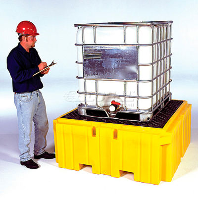 UltraTech Ultra-IBC Spill Pallet® Plus With Drain