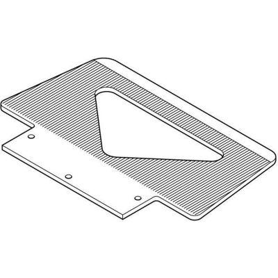 Optional Type WL Grooved Toe Plate 274169 for Wesco® LiftKar® SAL Stair Climbing Trucks