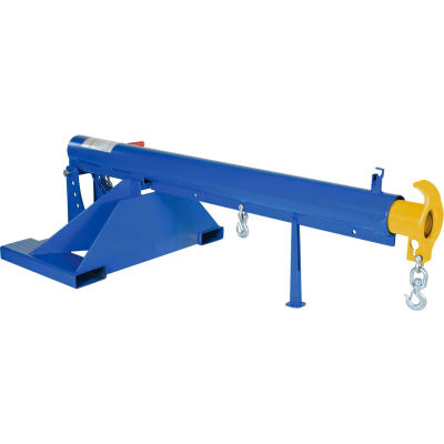 "Adjustable Pivoting Forklift Jib Boom Crane LM-OBT-4-36 4000 Lb. 36"" Centers"