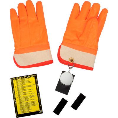 Ideal Warehouse Forklift Propane Cylinder Handling Gloves - 70-1030 Retracto-Glove