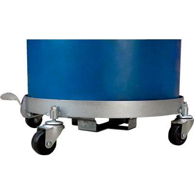 Tilting 55 Gallon Drum Dolly Steel Wheels DRUM-QUAD-C-TLT 1200 Lb.