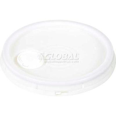 Tear-Tab Lid & Plastic Spout LID-54-PNST 3½, 5 & 6 Gal Open Head Pails
