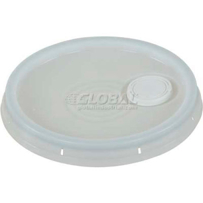 Tear-Tab Lid & Plastic Spout LID-54-PWST 3½, 5 & 6 Gal Open Head Pails