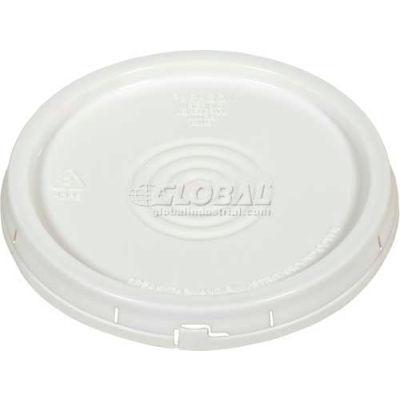 Tear-Tab Lid LID-54-PWT for 3½, 5 & 6 Gallon Open Head Pails - White