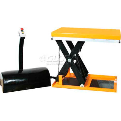 Wesco® Mini Electric Lift Table 270662 2200 Lb. Capacity