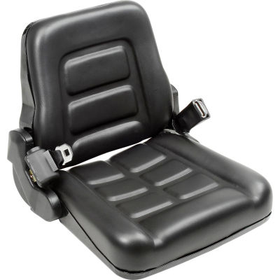 Global Industrial™ Vinyl Forklift Truck Seat with Seat Belt