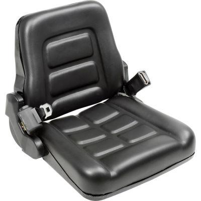 Global Industrial™ Vinyl Forklift Truck Seat with Seat Belt