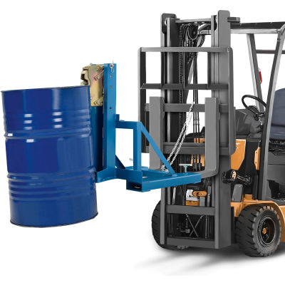 Forklift Mount Drum Grab - 1 Drum - 1000 Lb. Capacity