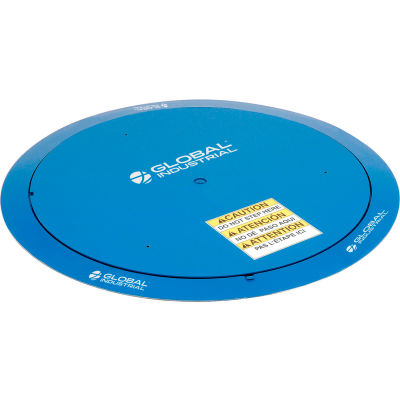 "Global Industrial™ Pallet Carousel & Skid Turntable, 51"" Dia., 4000 Lb. Cap."