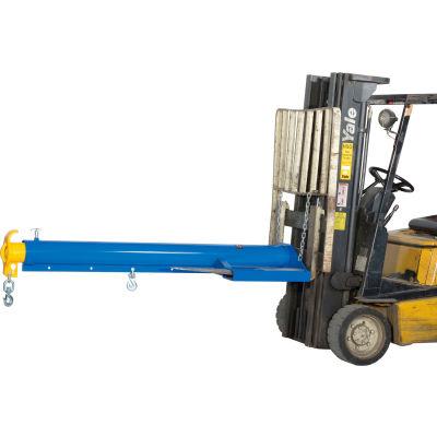 "Global Industrial™ Forklift Telescoping Jib Boom Crane 86-1/4""L to 153-3/4""L 4000 Lb. Capacity"