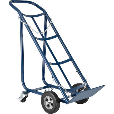 Global Industrial™ Tilt Back Cylinder Hand Truck - 800 Lb. Capacity