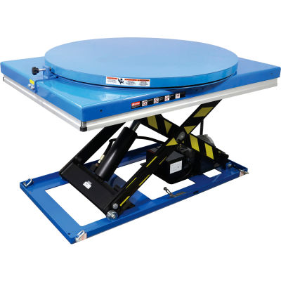 "Global Industrial™ Pallet Carousel For 48"" x 48"" Power Lift Tables, 40"" Dia., 4000 Lb. Capacity"