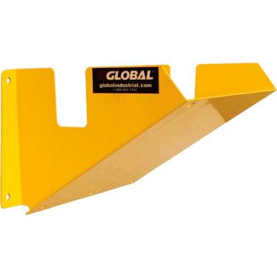 "Global Industrial™ Wheel Chock Holder, 12-7/8""W x 7-7/16""D x 6-7/16""H"