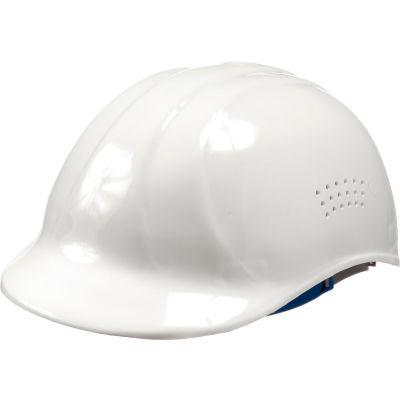 ERB™ 19111 Vented 4-Point Suspension Bump Cap, White