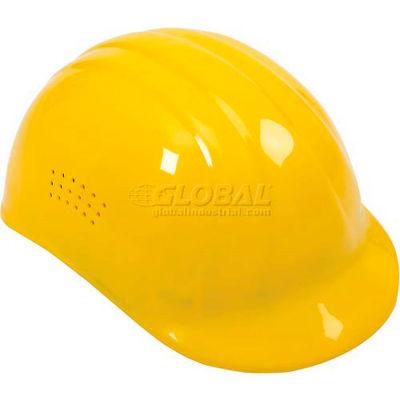 ERB™ 19112 Vented 4-Point Suspension Bump Cap, Yellow