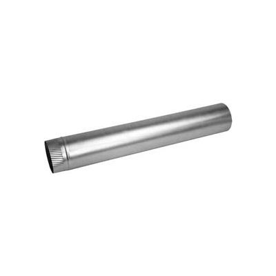 "Speedi-Products Aluminum Rigid Pipe EX-30AP 424 30 GA. 4"" X 24"""