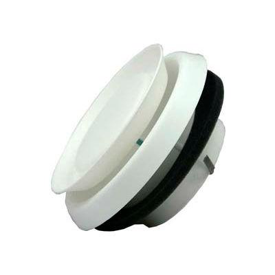 "Speedi-Products Round Adjustable Plastic Diffuser EX-DFRP 05 White 5"""