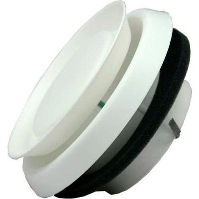 "Speedi-Products Round Adjustable Plastic Diffuser EX-DFRP 06 White 6"""