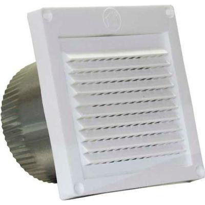 "Speedi-Products Micro Louver Eave Vent EX-EVML-03 White 3"""