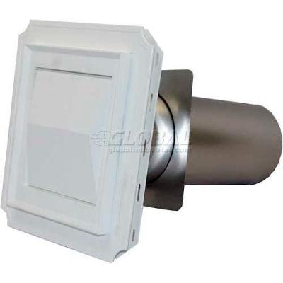 "Speedi-Products White Hood J-Block EX-HJBW 04 4"""